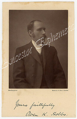 Rev. Owen Knights HOBBS 1861 - 1932 photo England