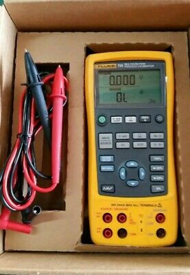 Fluke 725 Multifunction Process Calibrator With Leads Excellent