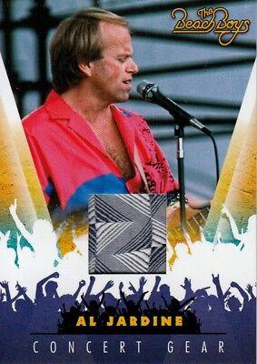 THE BEACH BOYS 2013 PANINI CONCERT GEAR COSTUME INSERT CHASE CARD # 13 JARDINE (Beach Boys Costume)