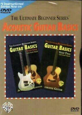 SEALED Ultimate Beginner Series Acoustic Guitar Basics Steps One Two Keith Wyatt Two Ultimate Beginner Series