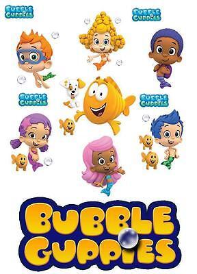 Bubble Guppies # 11 - 8 x 10 - T Shirt Iron On - Bubble Guppies Fabric