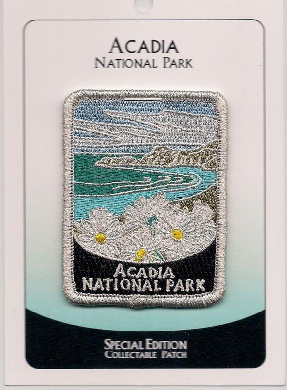 Acadia National Park Souvenir Patch Special Edition Traveler Series