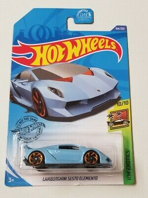 2020 Hot Wheels Lamborghini Sesto Elemento * J Case * NIP 1:64 Scale