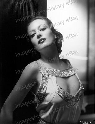 8X10 Print Joan Crawford Beautiful Portrait Stunning  047