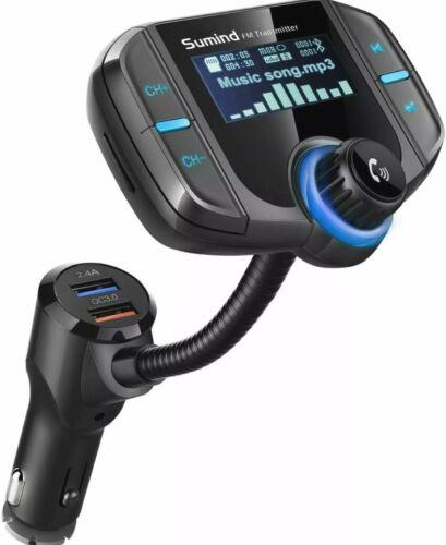 Suming Wireless Bluetooth FM Transmitter Radio Adapter Kit B