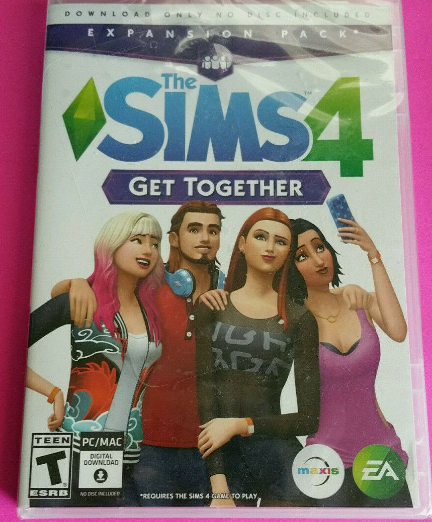 Computer Games - NEW - Sims 4 Get Together (Windows / Mac) Computer Game - Free Shipping!!