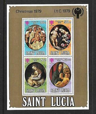 St. Lucia  Souvenir Sheet  Mint Never Hinged  1979