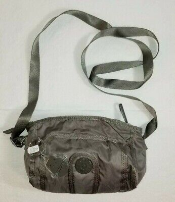 KIPLING Gray Small Crossbody  Shoulder  Bag