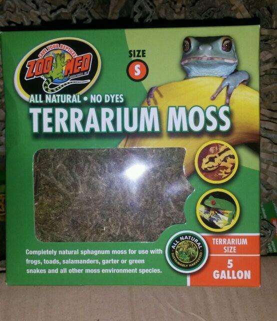 Zoo Med Terrarium Moss Small 1.3L