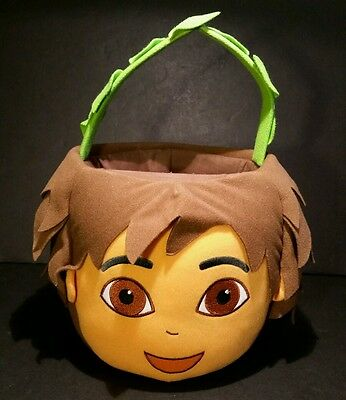 Go Diego Go Plush Basket Halloween Easter Toy Holder Nick Jr - Diego Halloween Games