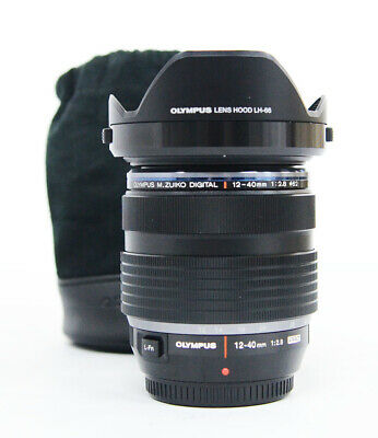 """# Olympus M.Zuiko Digital ED 12-40mm F2.8 PRO Lens """"Mint"""" S/N 5398"""