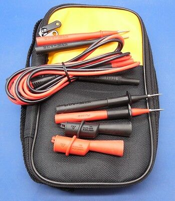 Fluke Soft Carrying Case 87 287 289 87v 88v 787 789 Tp2 Tl224 Ac175 Tp220 C25