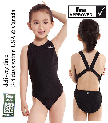 6f63d7821f0 $18.99. New Yingfa one piece racing and training swimsuit FINA Approved  Girl's ...
