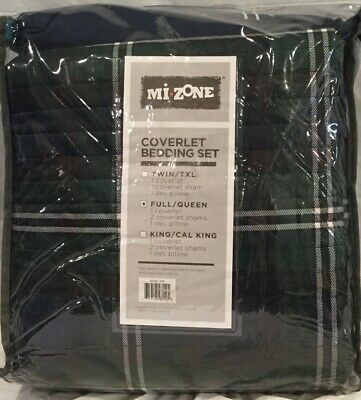 Mi-Zone Brody Full/Queen Size Teen Boys Quilt Bedding Set - Blue Ripped Package Boys Queen Quilt Bedding