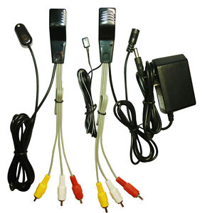 Sound-and-Image-AV-extender-Sender-IR-Repeater-Via-Cat5-6e-100meter-TV-Link
