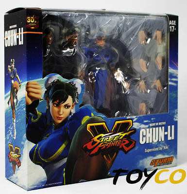 New US Storm Collectibles Street Fighter V Chun-Li 1/12 Scale Action Figure Kiki