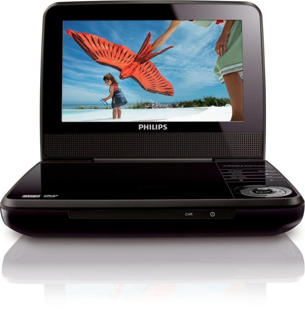 Philips PET741M/37 Portable DVD Player