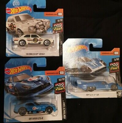 Hot Wheels Race Day Bundle Ford Escort Rs1600