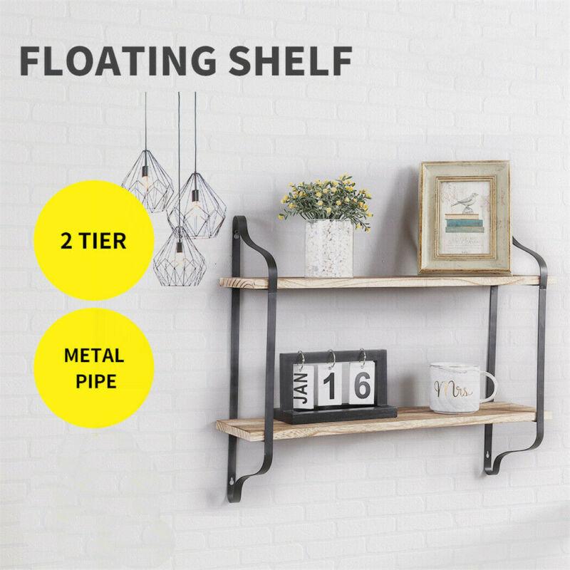Durable+Industrial+Support+Bracket+Wall+Shelf+Mount+Pratical+Floating+Shelves+UK