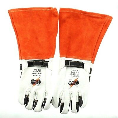 Power Gripz Tpg-016 Lineman Standard High Voltage Leather Protector Gloves 16