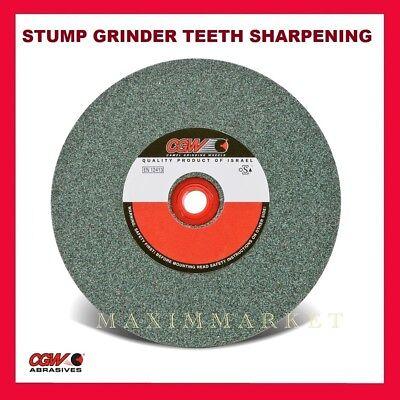6 Cgw Green Silicon Carbide Grinding Wheel For Stump Grinder Teeth Sharpening
