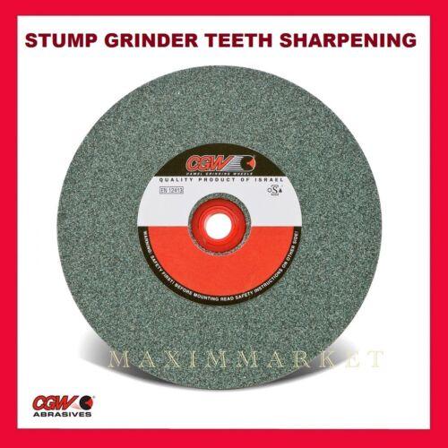 "6"" CGW Green Silicon Carbide Grinding Wheel for Stump Grinder Teeth Sharpening"