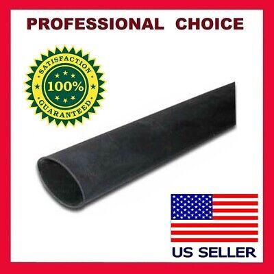 4 Feet Black Heat Shrink Tubing 12 Inch 12mm 21 Ratio Sleeve Wire Wrap Usa