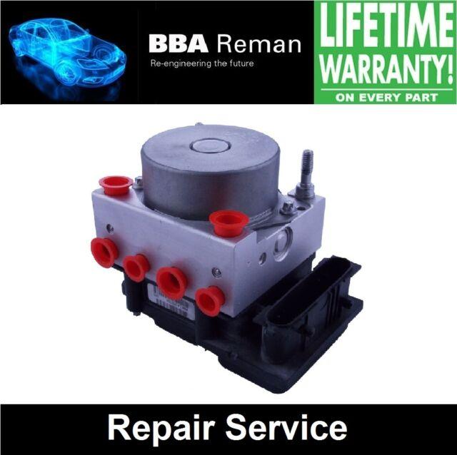 Vauxhall Corsa D Bosch ABS Pump ECU **REPAIR - LIFETIME WARRANTY!** - 0265800422