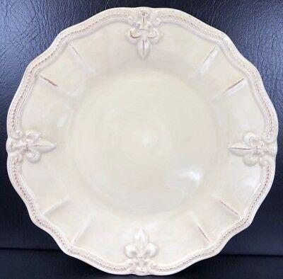Artimino Fleur De Lis Cream Dinner Plate Multiple Available (Artimino Fleur De Lis)