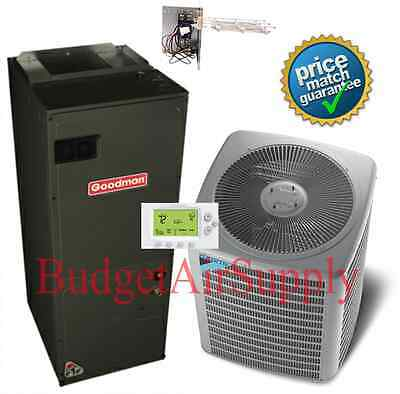 Daikin/GOODMAN Commercial 5 ton 14 seer(208/230) 3 phase 410a Split HEAT PUMP, used for sale  Davenport