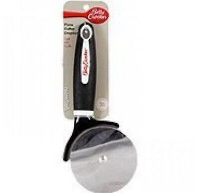 BETTY CROCKER PIZZA CUTTER slicer knife Recipe On back $6.04 FREE SHIPPING