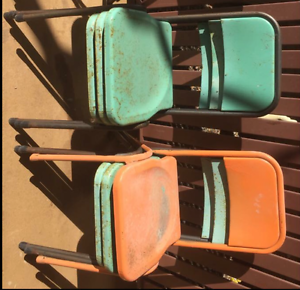 Old metal chairs Warwick Southern Downs Preview
