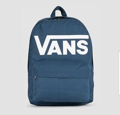 VANS Old Skool III Backpack Blue/White VANS Schoolbag Multi use...FREE P&P CHEAP