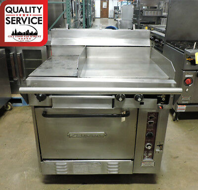 Southbend Co301ht Commercial Range With Hot Top Griddle Top Convection Oven