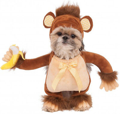 Monkey Banana Kostüm (Walking Monkey Chimpanzee Gorilla Banana Pet Dog Cat Halloween Costume)