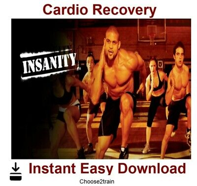 INSANITY- Cardio Recovery Workout Video Instant