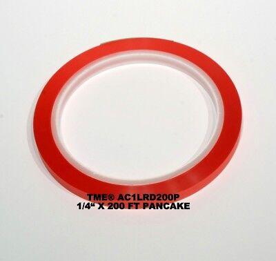 Open Reel Audio Leader Tape RED 1/4