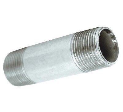 Compressor Pneumatic Galvanized Nipple Fitting 4 X 14 Npt Size