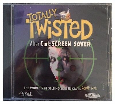 Totally Twisted After Dark Screensaver Pc Mac Brand New Sealed Free Us Ship Nice