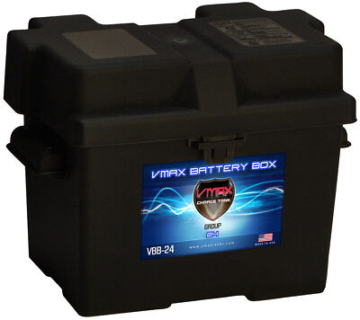 GROUP 24 VMAXTANKS BATTERY BOX for TROLLING MOTOR BOATS AND PONTOONS