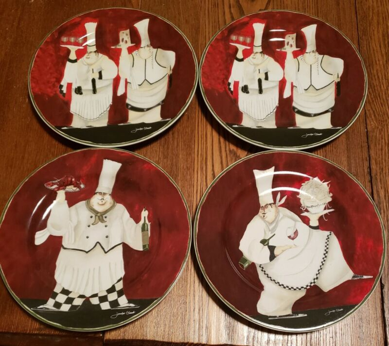 Casa Moda BORDEAUX BISTRO Salad Plates Set of 4