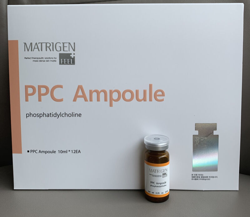 MATRIGEN PPC Lipolytic Slimming Solution Ampoule 1 Vial x 10ml  Made In Korea