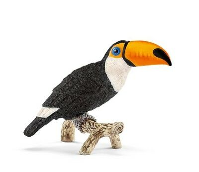Toucan jungle bird 14777 sweet tough strong Schleich Anywheres  Playground
