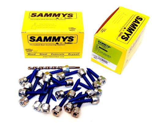 (25) Sammys 3/8-16 x 1-3/4 Threaded Rod Hanger for Concrete 8059957