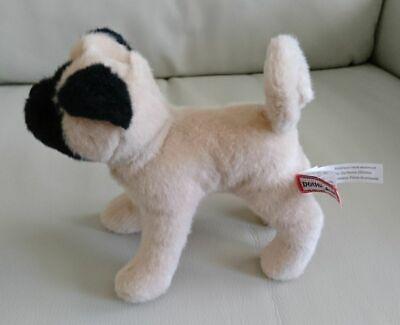 Black Pug Stuffed Animal (Pug Dog Stuffed Animal - Douglas Cuddle - Realistic Look Plush Tan & Black - 8