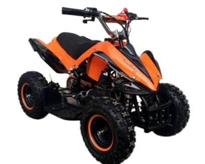 50cc Kids QUAD BIKE in ktm orange..   NEW ATV