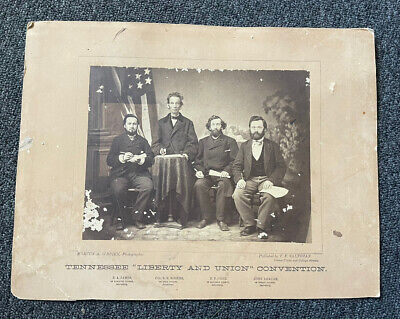 Tennessee Liberty & Union Convention photo Samuel R Rogers Post civil war AS-IS