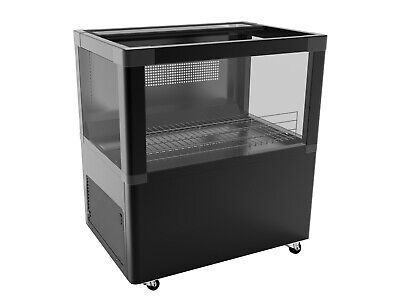 Self Contained Refrigerated Display Case Ideal For Beverage And Deli Products