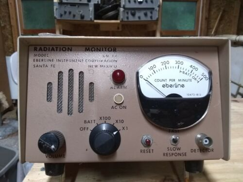Eberline RM-14 Radiation Detector