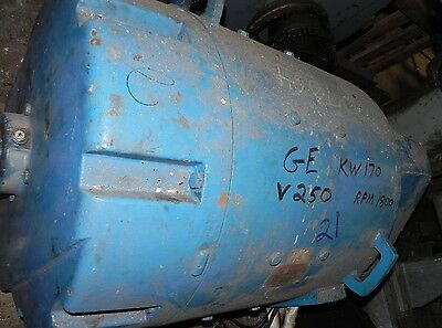 General Electric Motor 5CD585G26 250V 680A 1800RPM Used.
